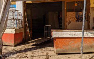 Μεγάλες καταστροφές σε καταστήματα και επιχειρήσεις στα Πολιτικά Εύβοιας