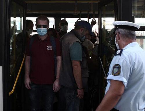 Πρόστιμα σε 390 άτομα για μη χρήση μάσκας
