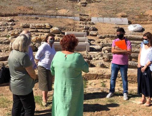 Αυτοψία σε έργα και ανασκαφές στη Χαλκίδα και την Ερέτρια από την Υπουργό Πολιτισμού