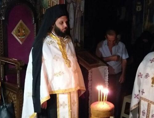 Ιερά αγρυπνία στο ησυχαστήριο Παναγίας Γοργοεπηκόου Ψαχνών