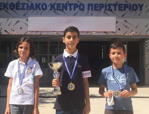 Ο 10χρονος Βασίλης Κατσάνης από την Χαλκίδα, κατέλαβε την 3η θέση στο Πανελλήνιο Μαθητικό Πρωτάθλημα σκάκι