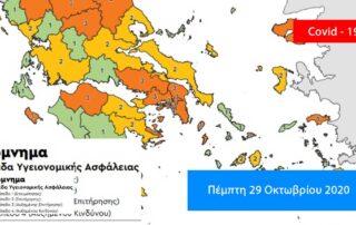 Κρούσματα covid Εύβοια - Βοιωτία - Φθιώτιδα - Στερεά