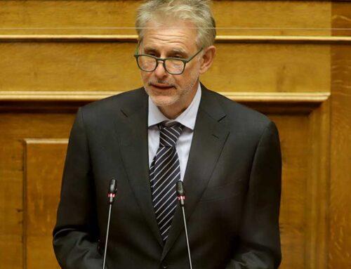 Ο Σπύρος Πνευματικός στη Βουλή για την πρόταση δυσπιστίας στον Υπουργό Οικονομικών