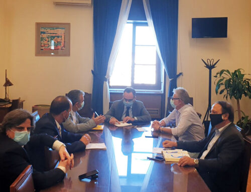 Ο Υφυπουργός Υγείας κ. Κοντοζαμάνης στην Κάρυστο για τη δημιουργία Μονάδας Τεχνητού Νεφρού