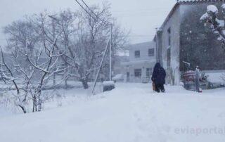Χειμονιάτικη ημέρα στην Στρόπωνες