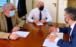 Συνάντηση με τον Υφυπουργό Προστασίας Περιβάλλοντος για το ιδιοκτησιακό είχε ο Σίμος Κεδίκογλου με τον Δήμαρχο Καρύστου