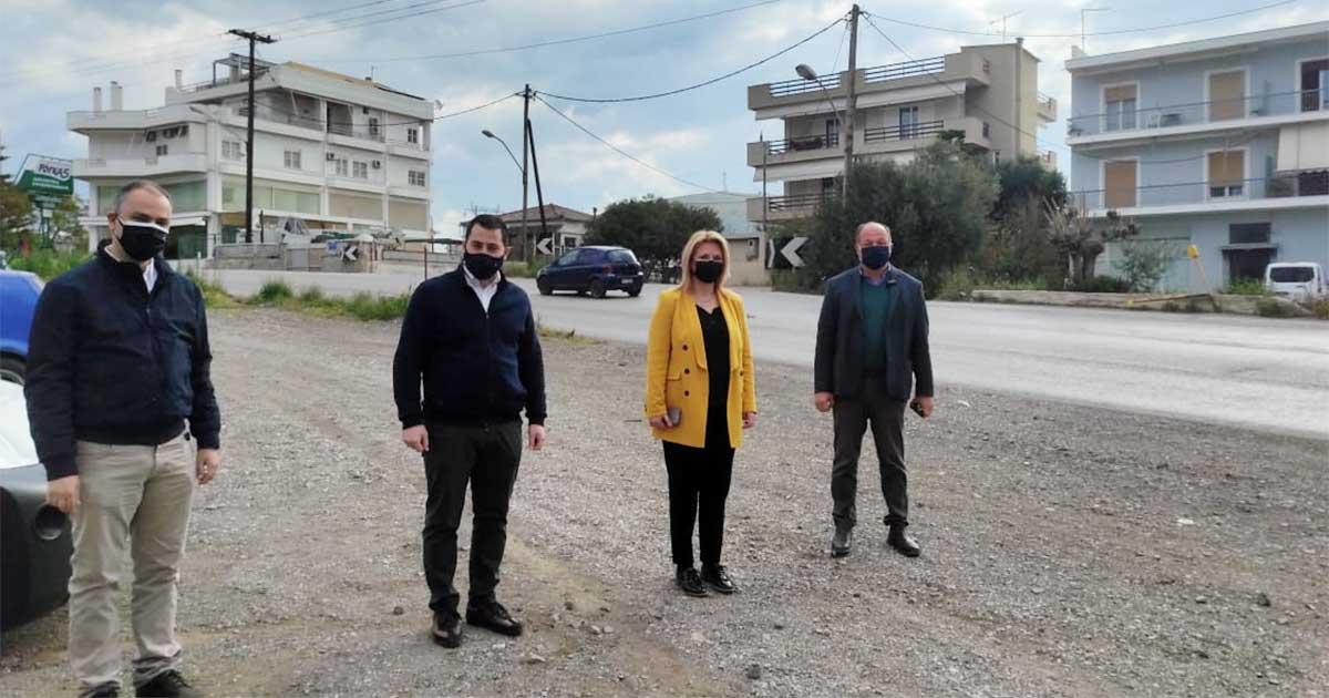 Ξεκινούν εργασίες στην «στροφή Τσεκούρα» Δήμου Χαλκιδέων