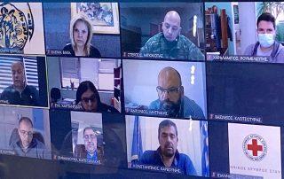 Ολοκληρώθηκε η συνεδρίαση του Συντονιστικού Τοπικού Οργάνου Πολιτικής Προστασίας του Δήμου Χαλκιδέων