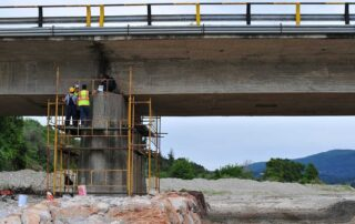 Επισκευάζεται και ενισχύεται η γέφυρα του ποταμού Ξηριά στην Βόρεια Εύβοια