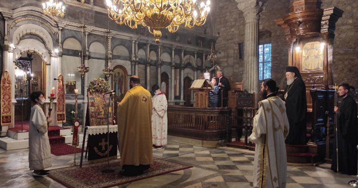 Η Πέμπτη εβδομάδα της Σαρακοστής στην Ιερά Μητρόπολη Χαλκίδας