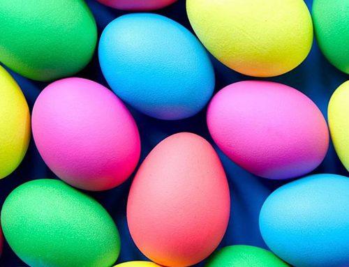 Οδηγίες για το βάψιμο των Πασχαλινών αυγών