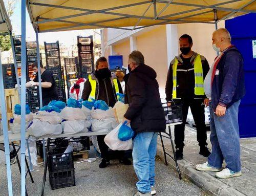 Ξεκίνησε η διανομή τροφίμων και ειδών πρώτης ανάγκης στους ωφελούμενους του προγράμματος ΤΕΒΑ του Δήμου Χαλκιδέων