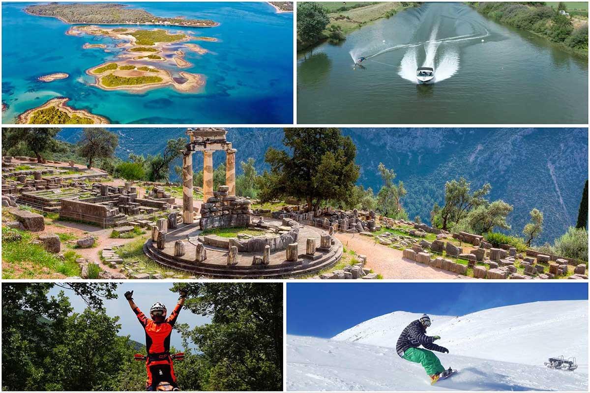 Στόχος της Περιφέρειας είναι η προβολή και η ανάδειξη του θεματικού τουριστικού και Πολιτιστικού προϊόντος