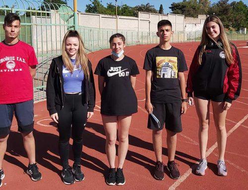 Νέα αρχή με πολύ καλές επιδόσεις για τους αθλητές του Ευβοϊκού ΓΑΣ