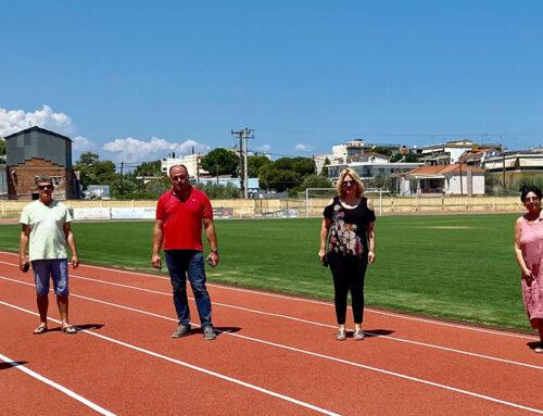Συνεχίζονται οι βελτιωτικές παρεμβάσεις στο γήπεδο ποδοσφαίρου Νέας Αρτάκης