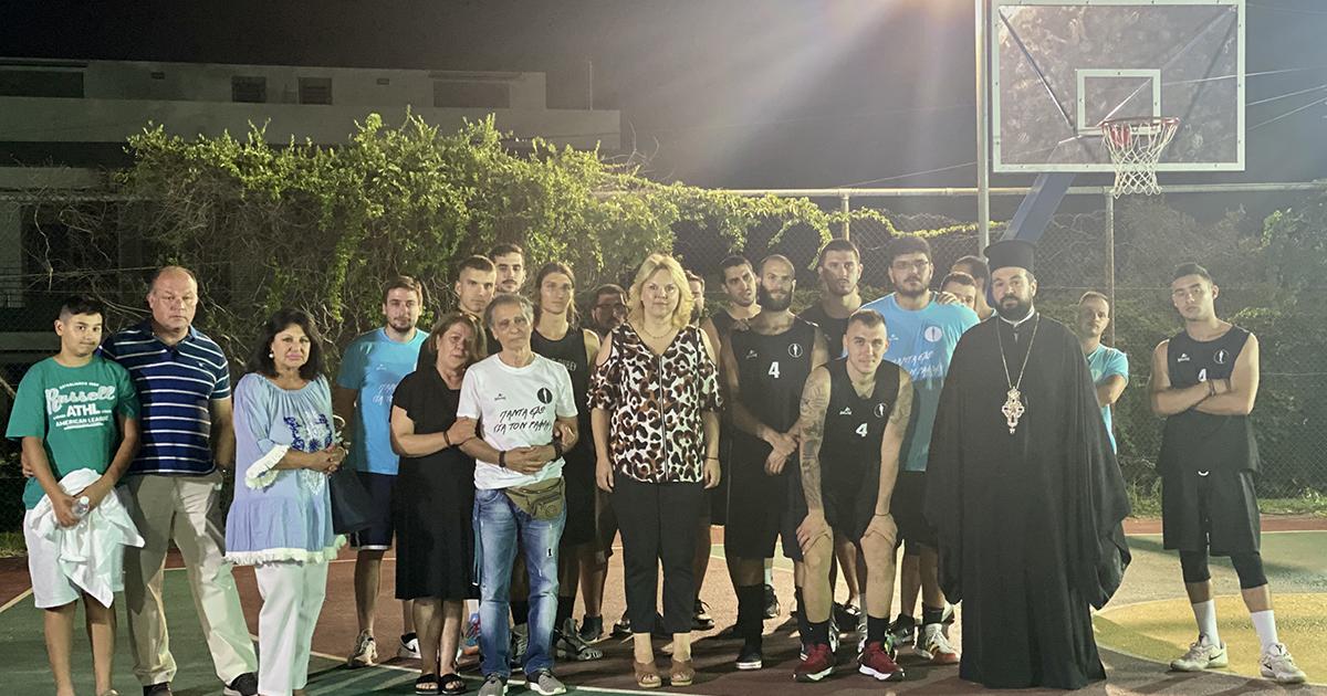 Ξεκίνησε το 2ο Τουρνουά μπάσκετ 3on3 «Ραφαήλ Σκεμπές» στην Χαλκίδα