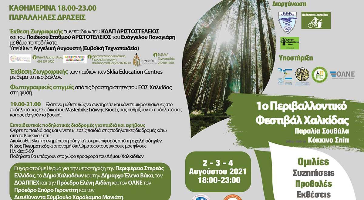 1o Περιβαλλοντικό Φεστιβάλ Χαλκίδας