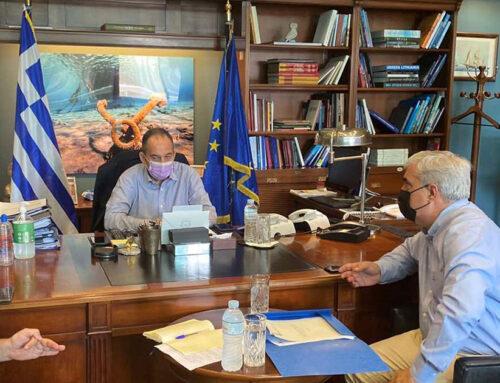 Επίσπευση των μέτρων από το Υπουργείο Ναυτιλίας για την άμεση αντιμετώπιση της καταστροφής στη Βόρεια Εύβοια