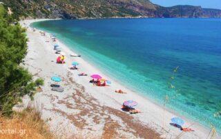 Παραλία Κορασίδα στην Εύβοια