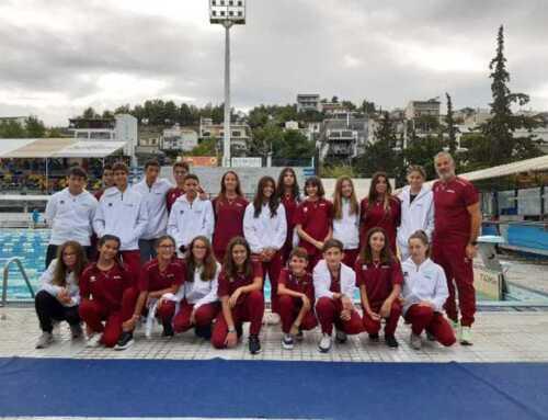Με 53 αθλητές-τριες συμμετείχε η αγωνιστική και προαγωνιστική ομάδα του Ευβοϊκού ΓΑΣ