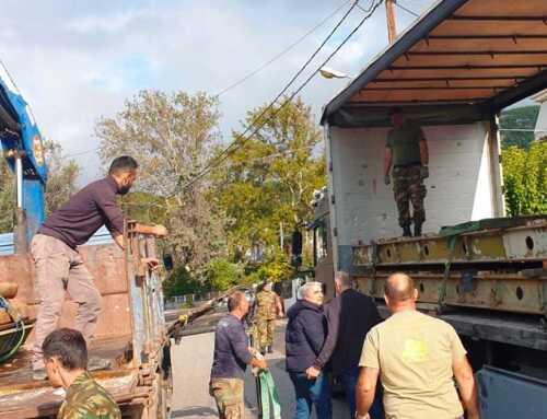 Η υποδειγματική συνεργασία Τοπικής Αυτοδιοίκησης και Στρατού απέτρεψε τον κίνδυνο πλημμυρικού φαινομένου στα Πολιτικά